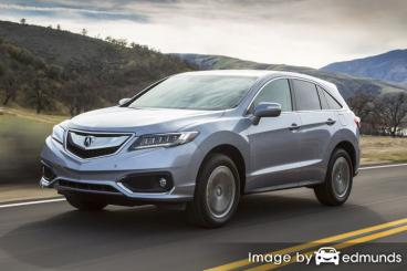 Insurance quote for Acura RDX in Anchorage