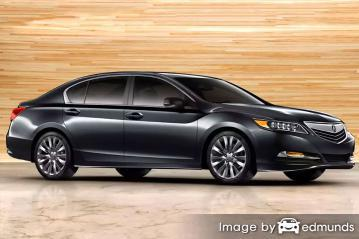 Insurance quote for Acura RLX in Anchorage