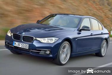 Insurance rates BMW 328i in Anchorage