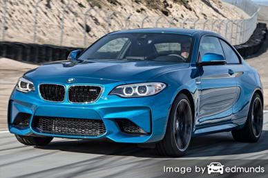 Insurance rates BMW M2 in Anchorage
