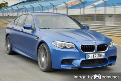 Insurance quote for BMW M5 in Anchorage