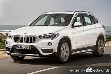 Insurance quote for BMW X1 in Anchorage