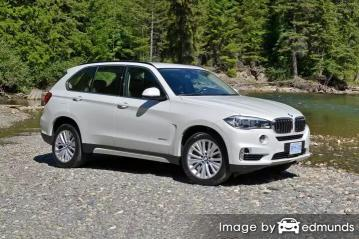 Insurance rates BMW X5 in Anchorage
