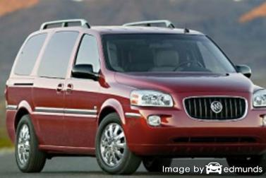 Insurance rates Buick Terraza in Anchorage