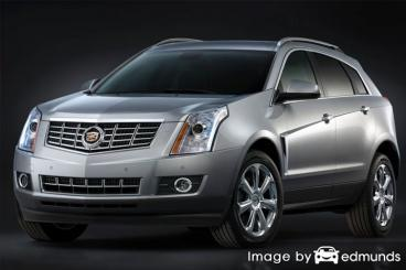 Insurance rates Cadillac SRX in Anchorage