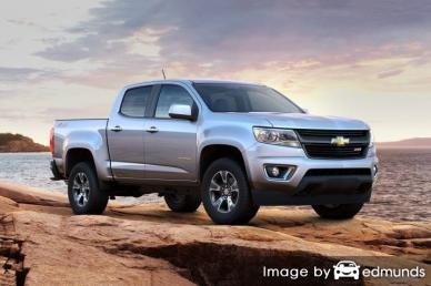 Insurance quote for Chevy Colorado in Anchorage