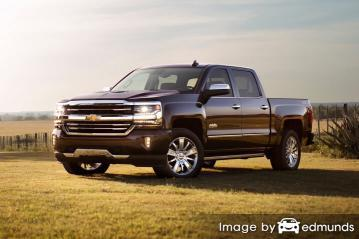 Insurance quote for Chevy Silverado in Anchorage