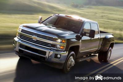 Insurance for Chevy Silverado 3500HD