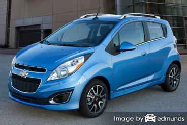 Insurance quote for Chevy Spark in Anchorage