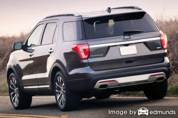Insurance quote for Ford Explorer in Anchorage