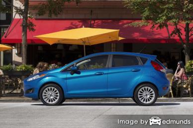 Insurance quote for Ford Fiesta in Anchorage