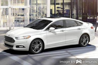 Insurance rates Ford Fusion in Anchorage