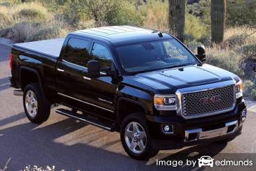 Discount GMC Sierra 2500HD insurance