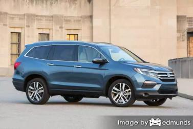 Insurance quote for Honda Pilot in Anchorage