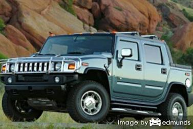 Insurance quote for Hummer H2 SUT in Anchorage