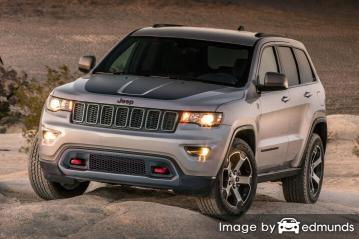 Insurance quote for Jeep Grand Cherokee in Anchorage