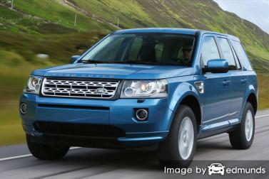Insurance quote for Land Rover LR2 in Anchorage