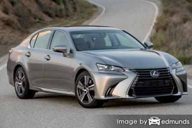 Insurance rates Lexus GS 200t in Anchorage