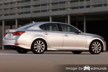 Insurance rates Lexus GS 450h in Anchorage