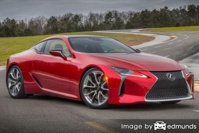 Insurance rates Lexus LC 500 in Anchorage
