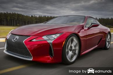 Insurance rates Lexus LFA in Anchorage