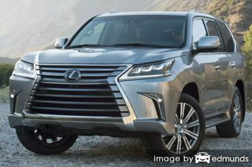 Insurance quote for Lexus LX 570 in Anchorage