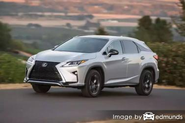Insurance rates Lexus RX 350 in Anchorage