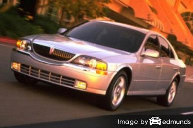 Insurance rates Lincoln LS in Anchorage