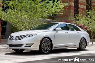 Insurance for Lincoln MKZ