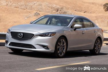 Insurance quote for Mazda 6 in Anchorage