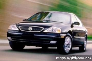 Insurance rates Mercury Sable in Anchorage