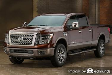 Insurance quote for Nissan Titan in Anchorage