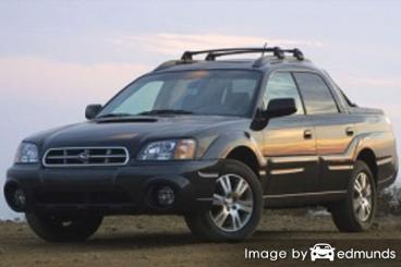 Insurance quote for Subaru Baja in Anchorage