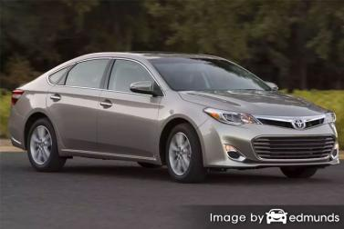 Insurance rates Toyota Avalon in Anchorage