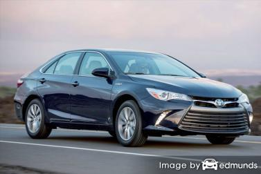 Insurance rates Toyota Camry Hybrid in Anchorage