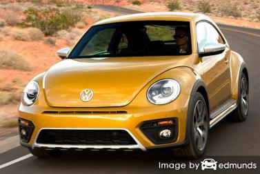 Insurance quote for Volkswagen Beetle in Anchorage