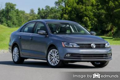 Insurance rates Volkswagen Jetta in Anchorage